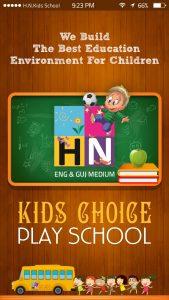 H.N.Kids Choice Play School Mobile App