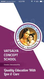 Vatsalya Concept School Mobile App