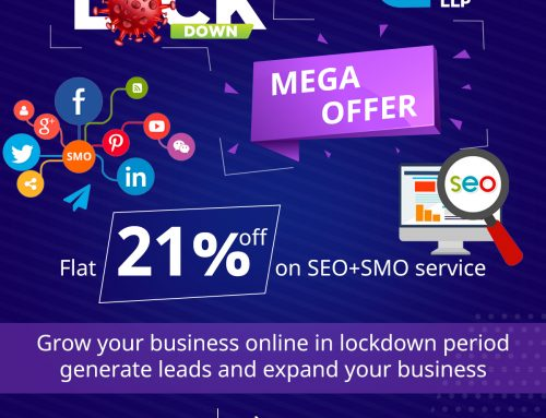 Flat 21% OFF On SMO Service During Lockdown Period