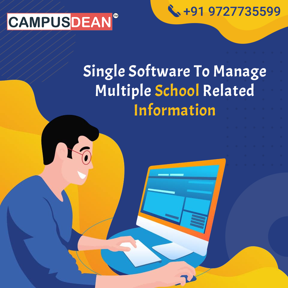 Single-Software-to-Manage-Multiple-School-related-Information